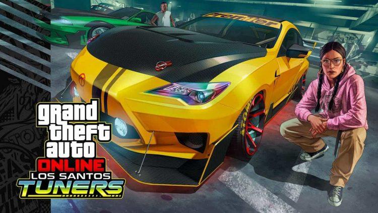 20 июля в GTA Online выйдет обновление Los Santos Tuners с социальным хабом