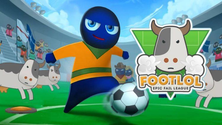 На IndieGala бесплатно раздают аркадный футбол FootLOL: Epic Fail League.