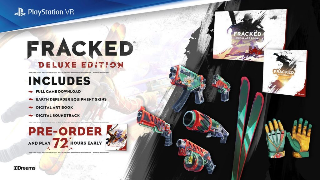 Состав Deluxe-издания Fracked