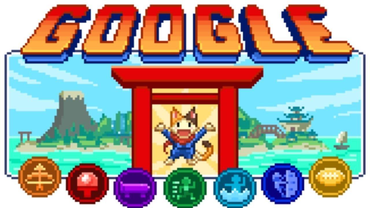 В честь олимпийских игр в Токио Google выпустила дудл-игру Doodle Champion Island Games