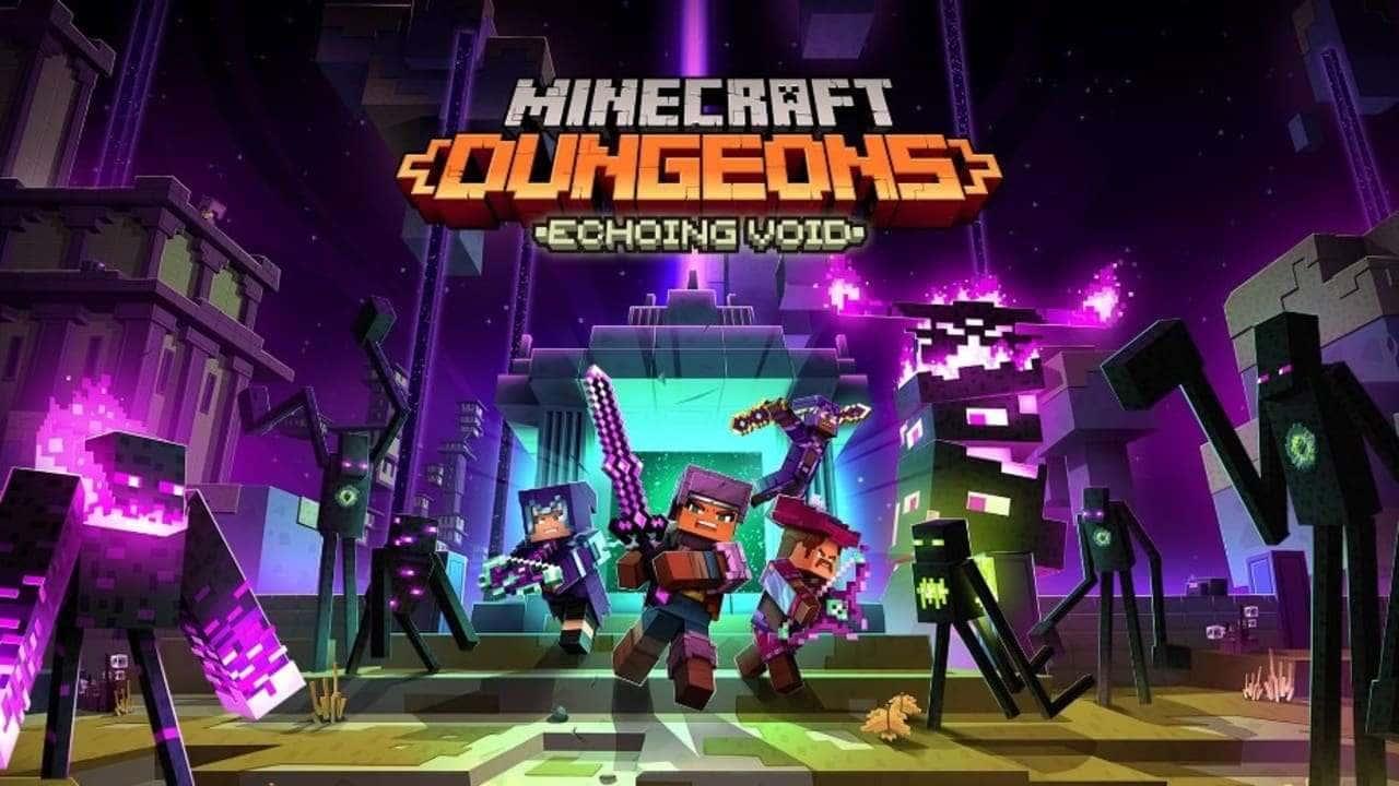 Представлен релизный трейлер дополнения Minecraft Dungeons: Echoing Void