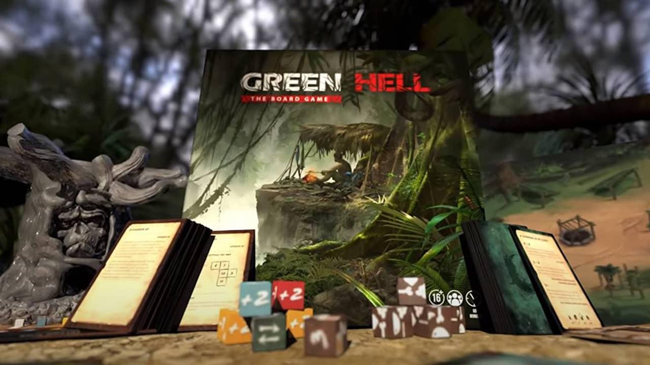 Анонсирована настольная игра Green Hell: The Board Game