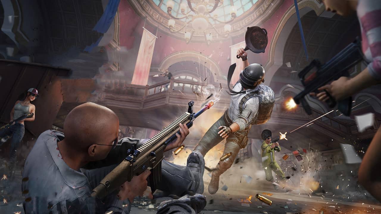 Теперь королевская битва PUBG называется PlayerUnknown's Battlegrounds: Battlegrounds