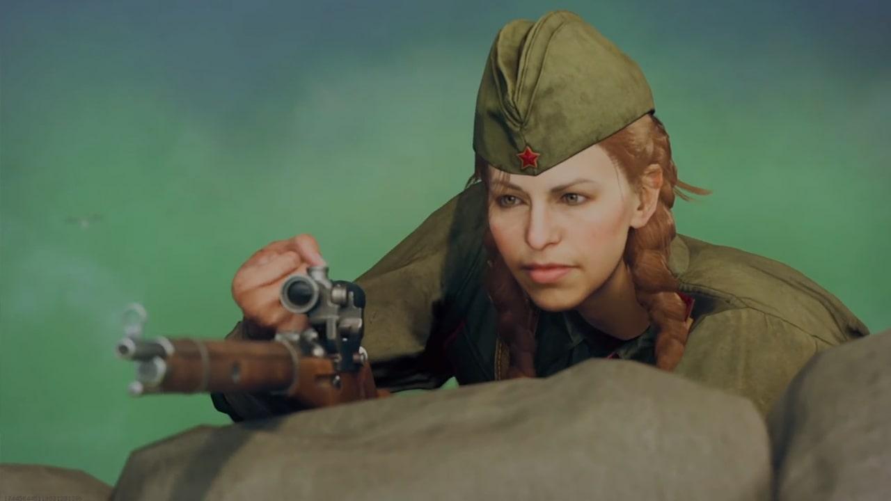 Представлен первый геймплей Call of Duty: Vanguard за снайпера Полину Петрову