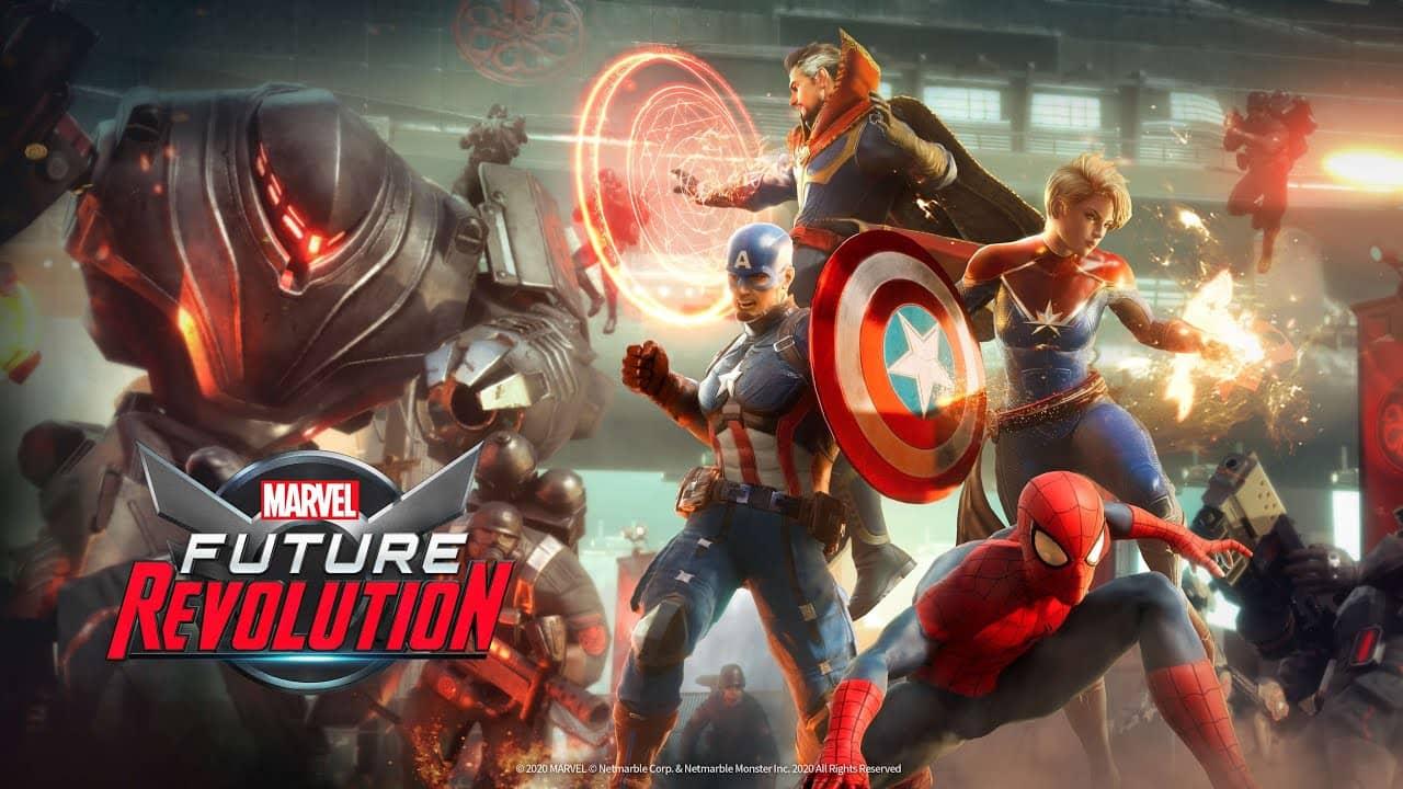 На Android и iOS вышел супергеройский ролевой экшен MARVEL Future Revolution