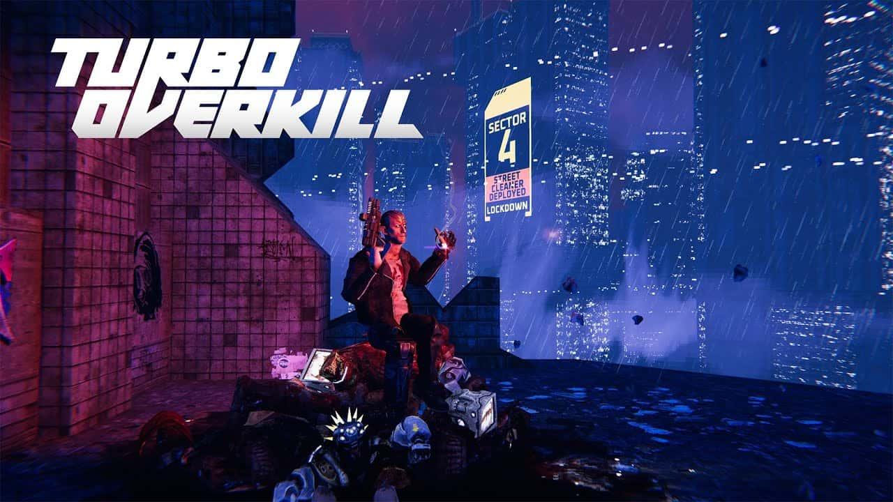 Отчаянный Джонни против машины: представлен новый геймплей драйвового экшена Turbo Overkill