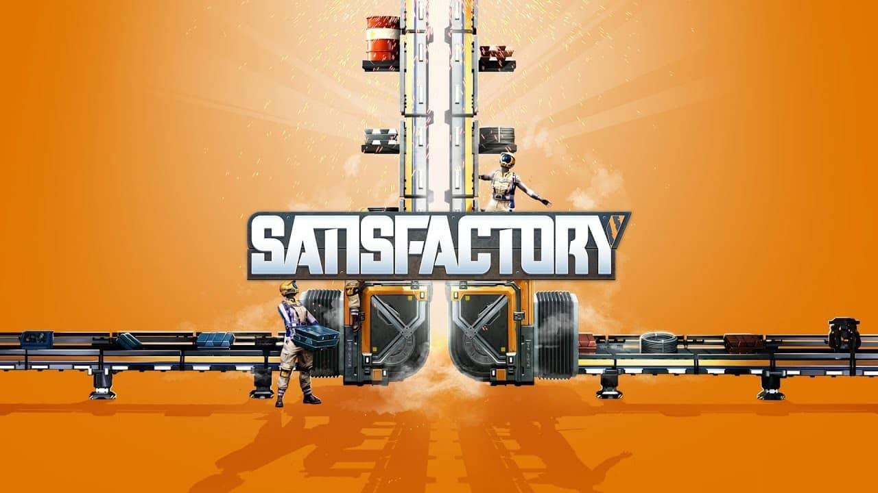 В пятом обновлении Satisfactory добавили новые блоки для строительства и возможность размещать перила на рампах