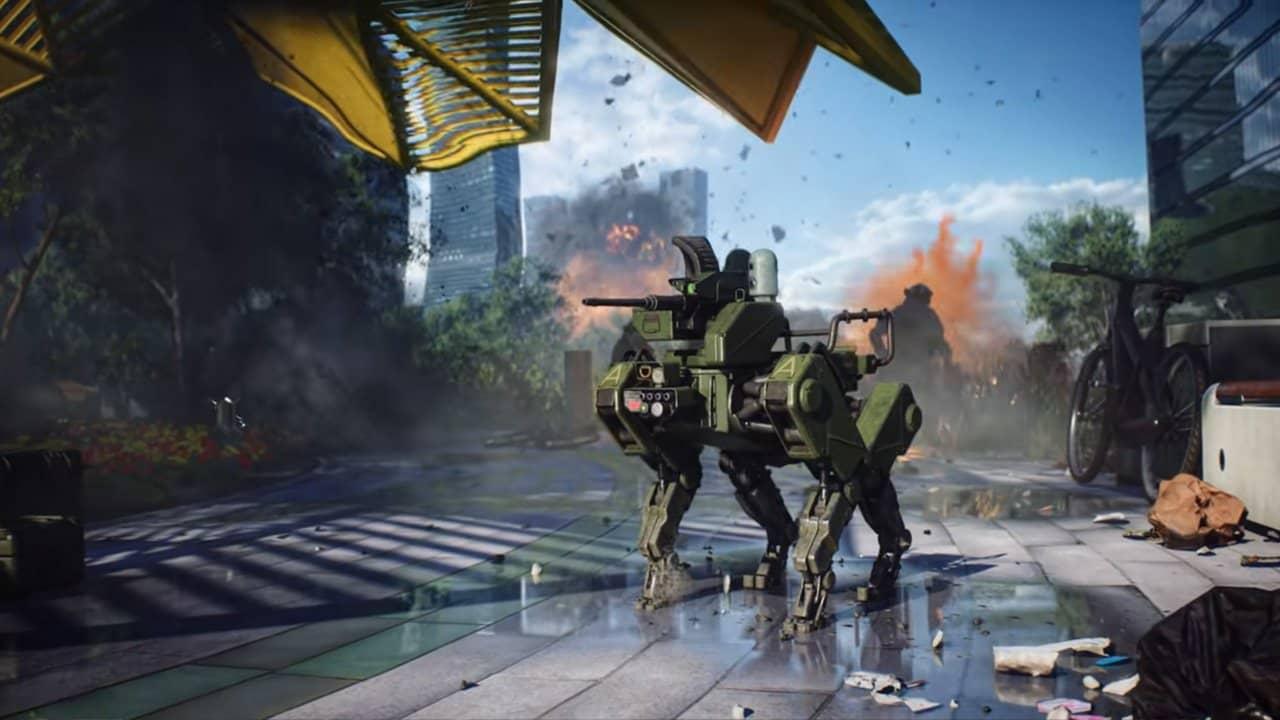 Шутер Battlefield 2042 перенесли на конец ноября