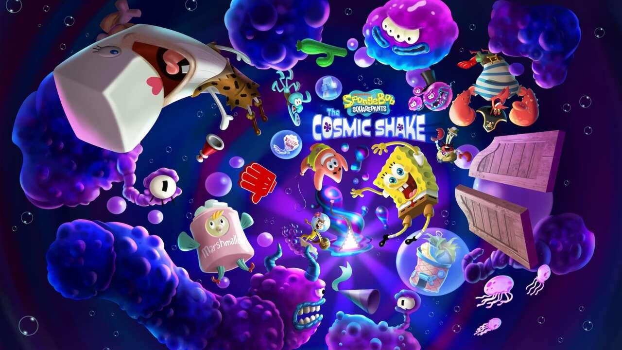 Спанч Боб и Патрик - путешественники по мирам: анонсировано приключение SpongeBob SquarePants: The Cosmic Shake