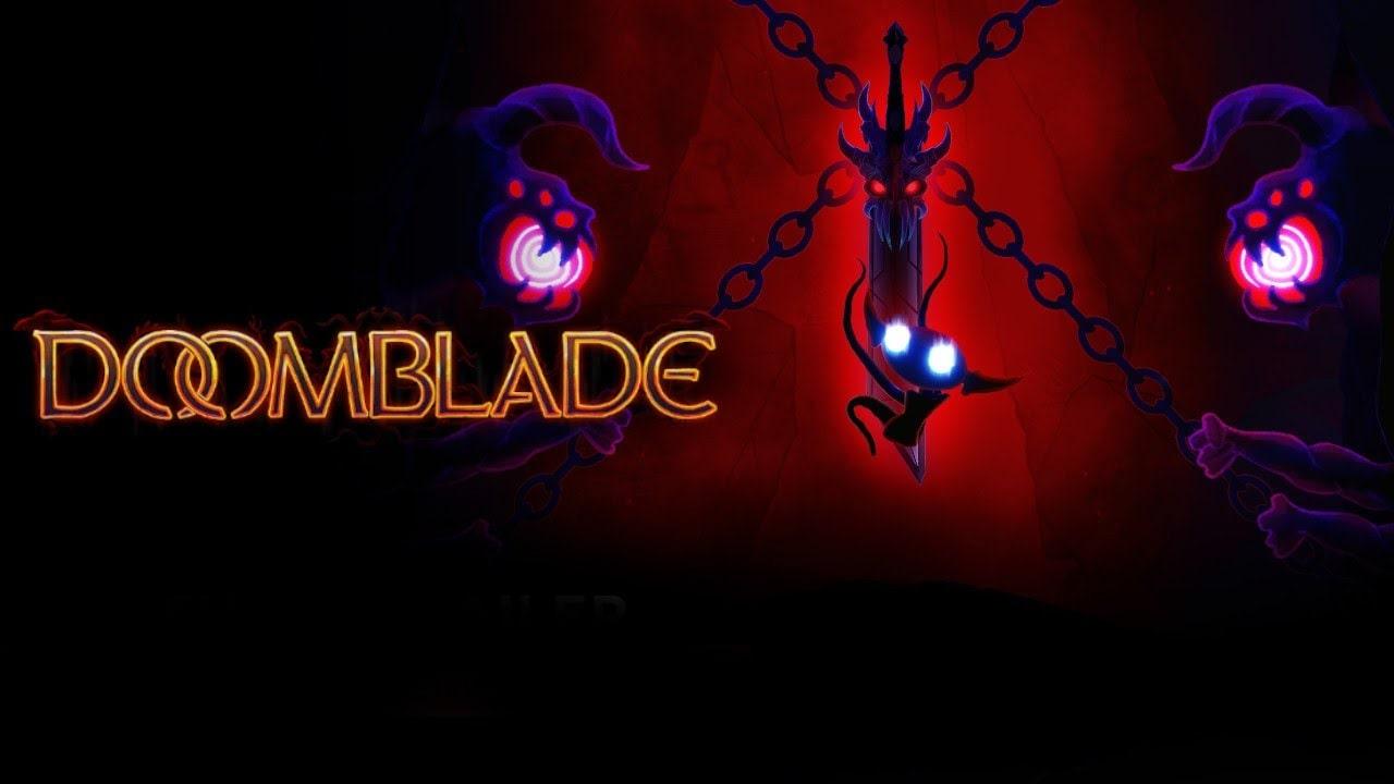 Анонсирована метроидвания DOOMBLADE про умный меч и странные подземелья
