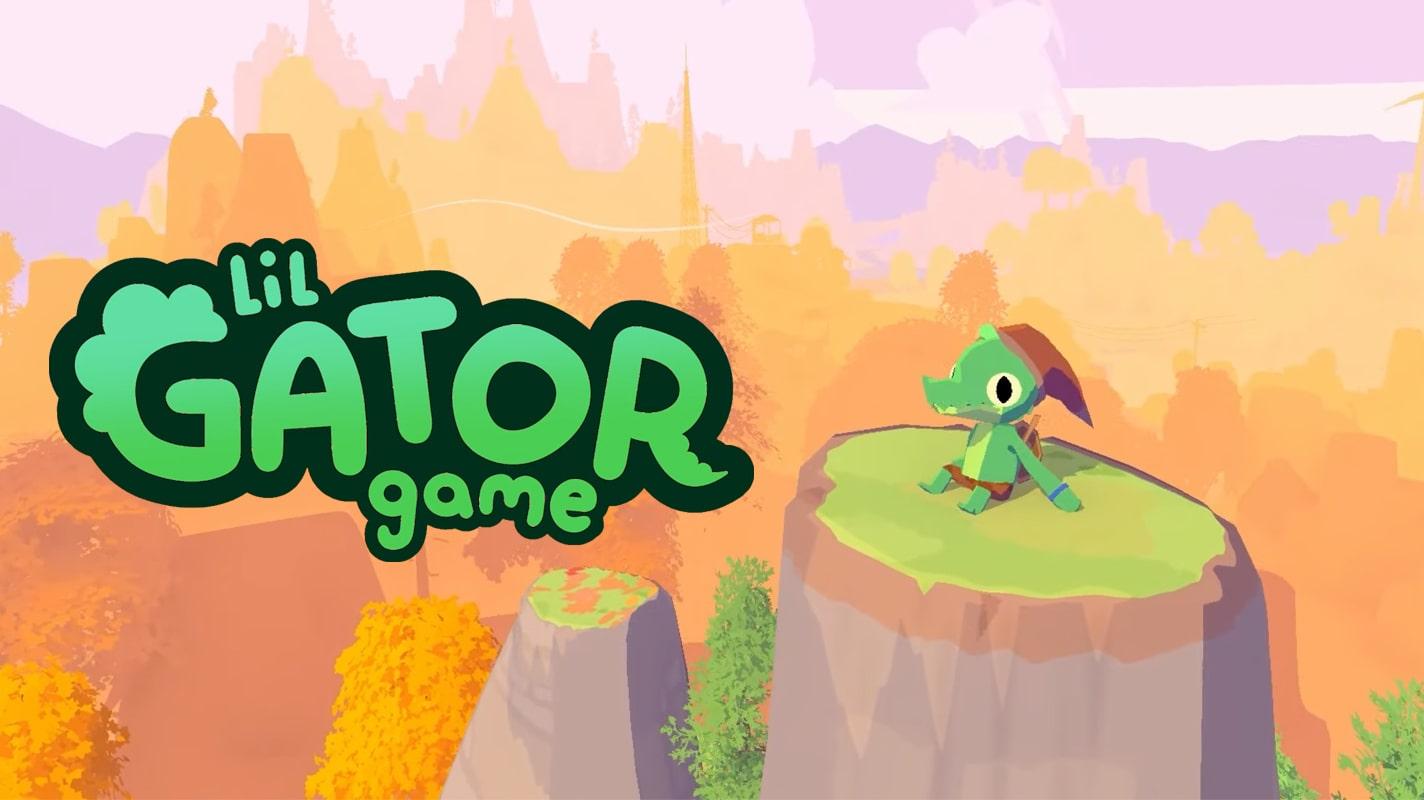 Милый аллигатор и его картонные враги в трейлере приключения Lil Gator Game