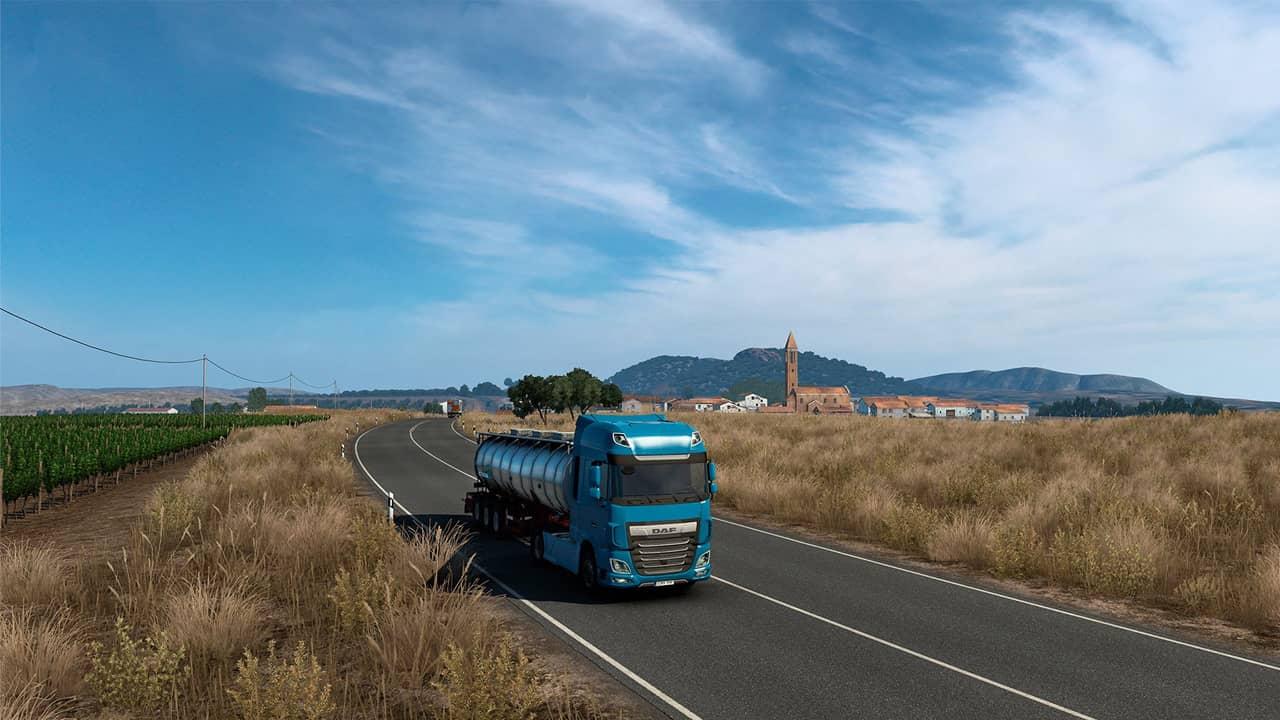 В дополнение Euro Truck Simulator 2 - Iberia добавят две бесплатные дороги