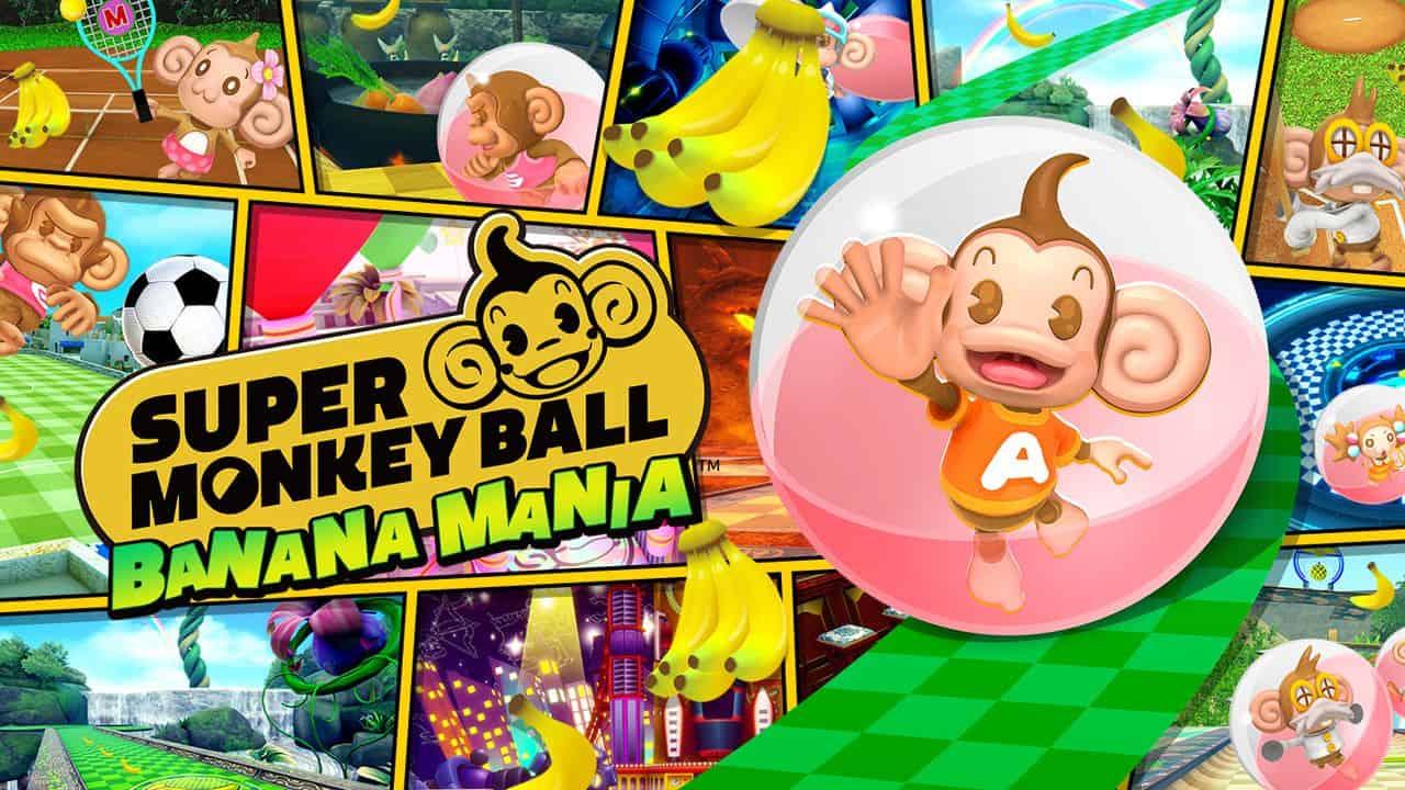 Состоялся релиз Super Monkey Ball Banana Mania, веселой аркады про обезьянок в шаре
