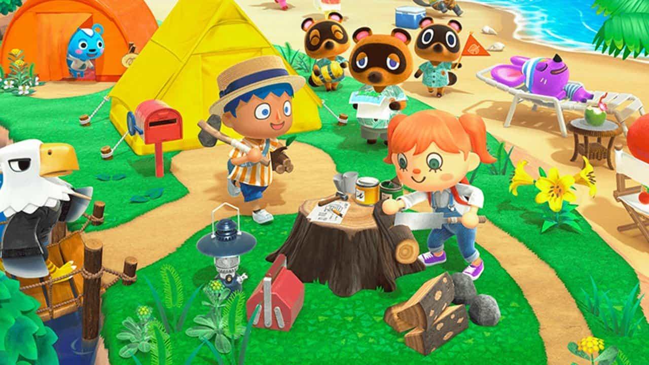Много информации про Animal Crossing: New Horizons: платное и бесплатное дополнения