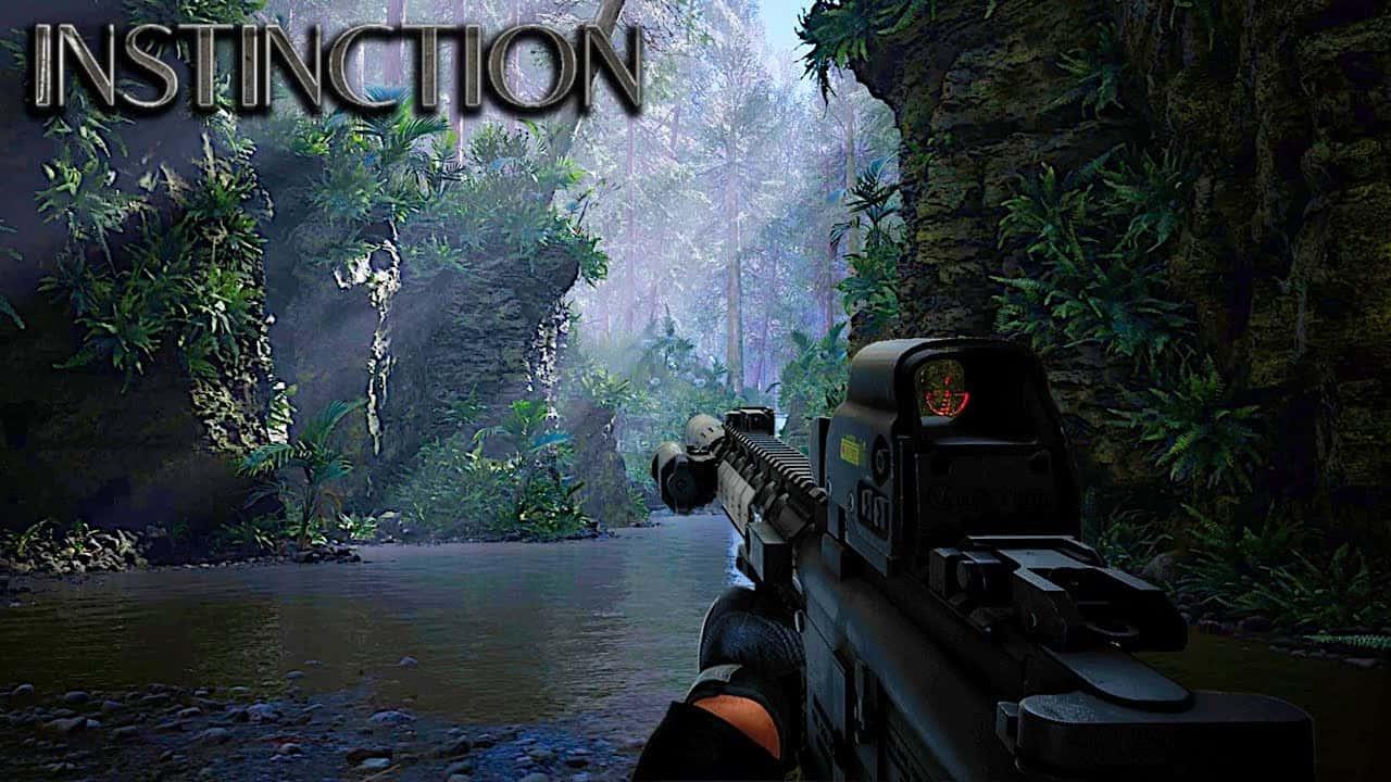 В новом трейлере выживалки Instinction показали красивейшие локации и стрельбу по динозаврам