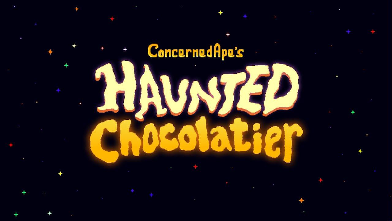 Создатель Stardew Valley представил свою новую игру - Haunted Chocolatier